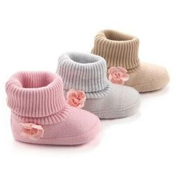 Baby Girl Boys Winter Warm Ankle Boots Booties Infant Toddle