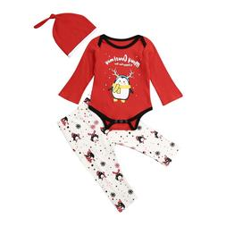 0-24months Newborn Clothes Set Merry Christmas <font><b>Baby