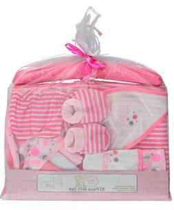 Snugly Baby 10-Piece Layette Baby Girl Gift Set