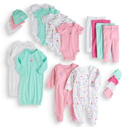 New Garanimals Newborn Layette Baby Shower Gift Set, 20pc