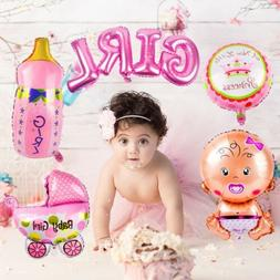 5pcs Baby Shower Foil Christening Balloon Inflatable Child B