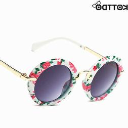 6 Colors Fashion Round Cute Kids Sunglasses Brand Boys And G