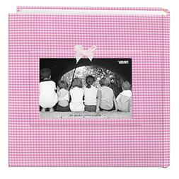 Pioneer Photo Albums 200-Pocket Gingham Fabric Frame Cover P