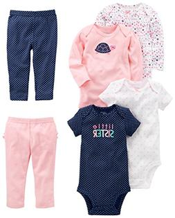 Simple Joys by Carter's Baby Girls' 6-Piece Little Character