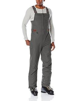 Arctix Men's Athletic Fit Avalanche Bib Overall, Charcoal, S