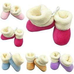 Baby Boys Girls Booties Slippers Infant Soft Snow Boots Warm