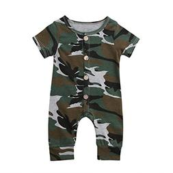 Emmababy Baby Boys Girls Jumpsuit Hoodie Romper Outfit Long