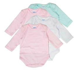 Baby Clothes Girl Newborn 4 Pack Bodysuit Set lots  Long Sle