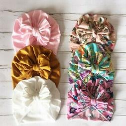 Baby Cotton Hat For Girls Boys Newborn India Style Bow Hat P