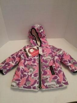 CANADA WEATHER GEAR Baby Girl 12 Month old multi Color rever
