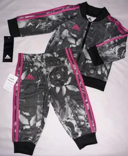 c12db860 Adidas Baby Girl 6M 6 Months Digital Floral Jacket Pants Out