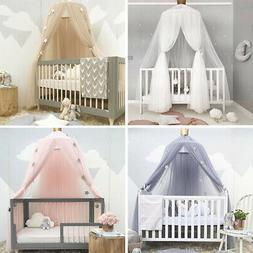 Baby Girl Bed Canopy Bedcover Mosquito Net Curtain Bedding D