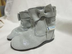 Robeez Baby Girl Boots, 0-6 months
