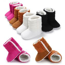 Baby Girl Boy Snow Boots Winter Booties Infant Toddler Newbo