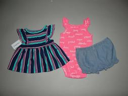 Baby girl clothes, 24 months, Carter's 3 piece set/SEE DETAI