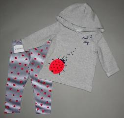 Baby girl clothes, Newborn, Carter's 2 piece set/SEE DETAILS