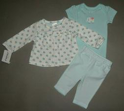 Baby girl clothes, Preemie, Carter's 3 piece set/NEW ARRIVAL