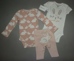 Baby girl clothes, 24 months, Carter's 3 piece set/NEW OUT/