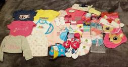 BABY GIRL CLOTHING & SOCK LOT *CALVIN KLEIN*TOMMY HILFIGER*R