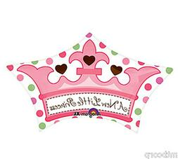 Baby Girl Crown Balloon Shower Party Decoration A New Little