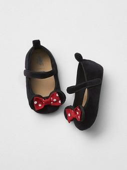 GAP BABY GIRL Disney Minnie Mouse Flats shoes NWT 0-3M 3-6M