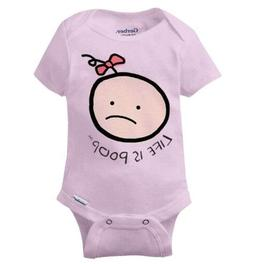 Baby Girl Funny Cute Gerber Onesie | Graphic Novelty Gift Id