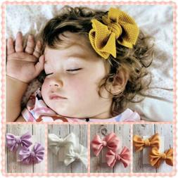 Baby Girl Hair Accessories Hair Bow Clips Pinwheel hairbows