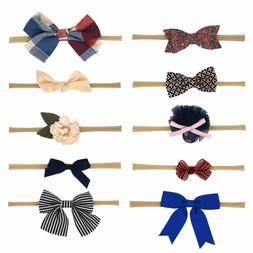 Baby Girl Headbands and Bows Best Hair Ties for Infants Todd