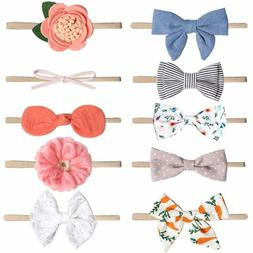 Baby Girl Headbands and Bows, Newborn Infant Toddler Hair Ac