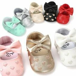 Baby Girl Newborn Infants Soft Crib Shoes Anti-slip Sneaker