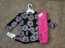 Calvin Klein. Baby Girl Outfit . BRAND NEW.