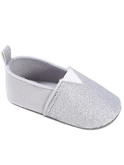 Voberry Baby Girl Sequin Leather Crib Shoes Toddler Soft Sol