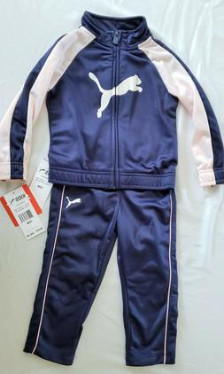 Baby Girls 18M PUMA track suit 2 pc set Athletic outfit Top