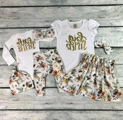 baby girls matching clothes little big sister