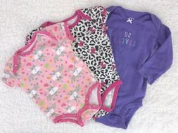 baby girls one piece rompers sleepers solid
