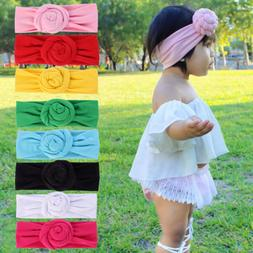 baby headband turban knotted girl s hairbands