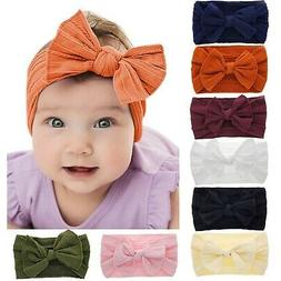 Baby Headbands Turban Knotted, Girl's Hairbands for Newborn,