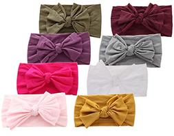 Baby Headbands Turban Knotted Girls Hairbands for Newborn To