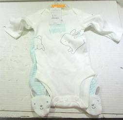 """Baby/Infant Girl Just One You/Carter's Mint """"Honey Bunny"""" 2-"""
