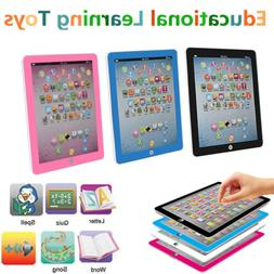 Baby Kids Earlly Learning Tablet IPAD Educational Toys Gift