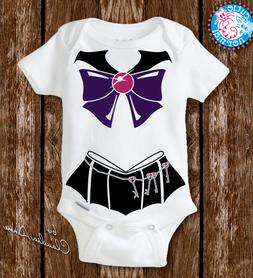 Baby Sailor Moon Pluto Costume Newborn Baby Girl Gifts Cloth