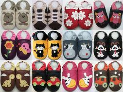Minishoezoo baby soft sole shoes chaussons indoor slippers n