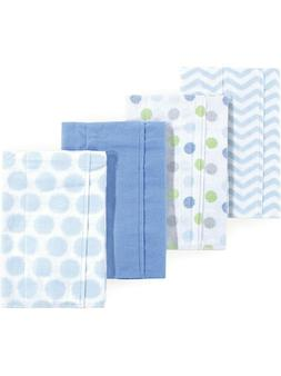 Luvable Friends Basics Baby Boy and Girl Flannel Burp Cloth,