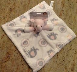 Blankets And Beyond Baby Girl New Pink Elephant Plush Securi