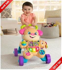 Baby Walker With Wheels Boy Girl Sit To Stand Infant Toddler