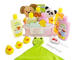 Bubble Bath Time Gift Basket for New Moms, Baby Showers a Gr