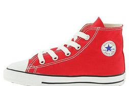 Converse Chuck Taylor All Star Hi Red White Infant Toddler B