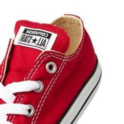 Converse All Star Ox Red White Infant Toddler Baby Boys & Gi
