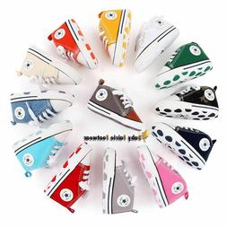 Classic Baby Boy Girl Crib Shoes Infant Sneakers Casual Shoe