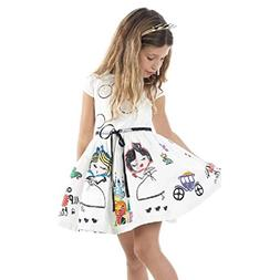 Vicbovo Clearance Sale Summer Girls Dresses Kids Toddler Bab